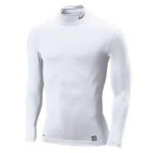 Nike Pro Core Mock Baselayer (white)