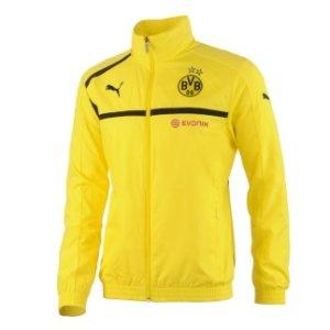 2012-13 Borussia Dortmund Woven Jacket (Yellow)