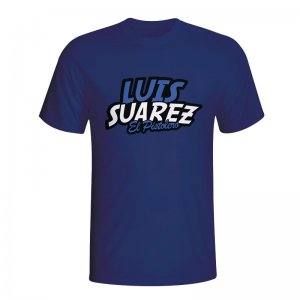 Luis Suarez Comic Book T-shirt (navy) - Kids