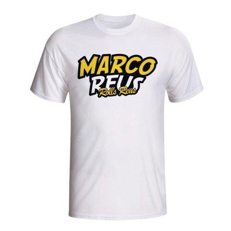 Marco Reus Comic Book T-shirt (white) - Kids