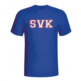 Slovakia Country Iso T-shirt (blue) - Kids