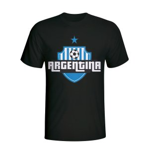 Argentina Country Logo T-shirt (black)