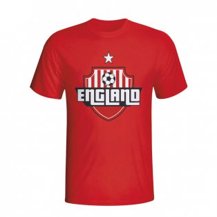 England Country Logo T-shirt (red)