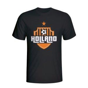 Holland Country Logo T-shirt (black)