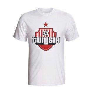 Tunisia Country Logo T-shirt (white)