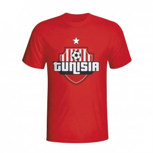 Tunisia Country Logo T-shirt (red)
