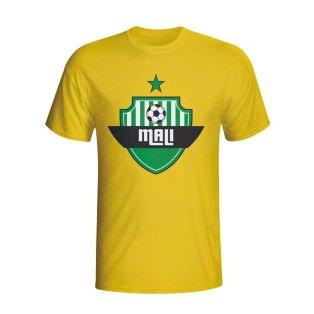 Mali Country Logo T-shirt (yellow) - Kids