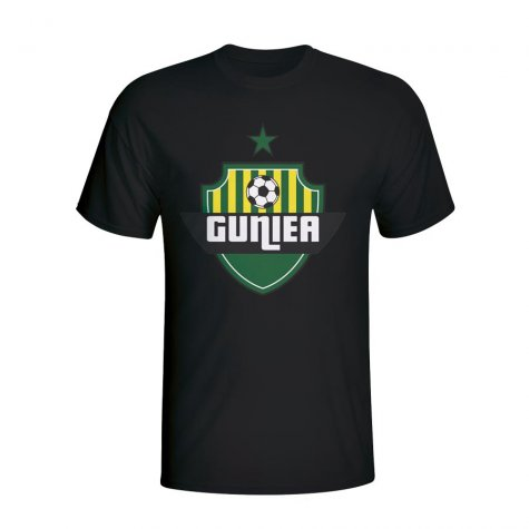 Guinea Country Logo T-shirt (black) - Kids