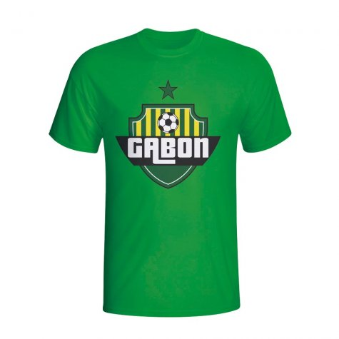 Gabon Country Logo T-shirt (green) - Kids
