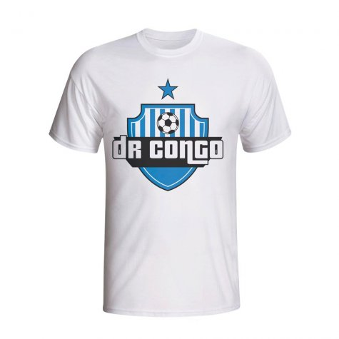 Dr Congo Country Logo T-shirt (white)