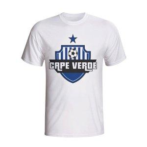Cape Verde Country Logo T-shirt (white)