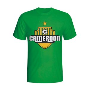 Cameroon Country Logo T-shirt (green) - Kids