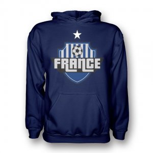 France Country Logo Hoody (navy)