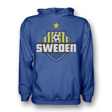 Sweden Country Logo Hoody (blue)