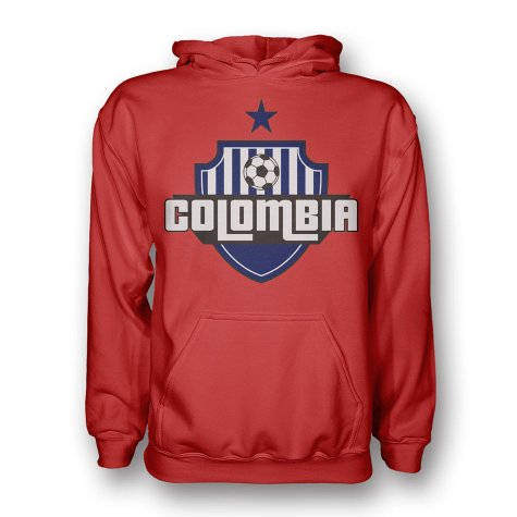 Colombia Country Logo Hoody (red)