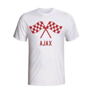 Ajax Waving Flags T-shirt (white)