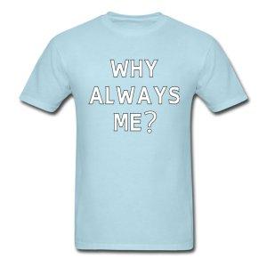 Mario Balotelli Why Always Me T-Shirt (Blue)