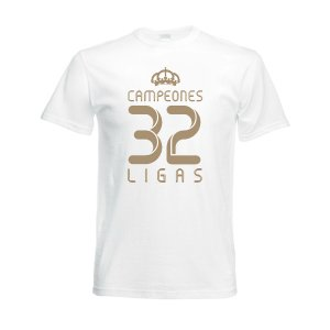 2012 Real Madrid Champions T-Shirt (White)