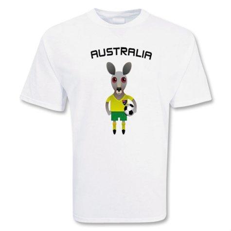 Australia Mascot Soccer T-shirt