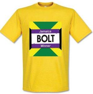 Usain Bolt Winners T-Shirt (Yellow)