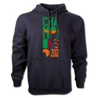 2012 Zambia Winners Hooded Top