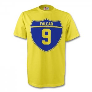 Radamel Falcao Colombia Crest Tee (yellow) - Kids