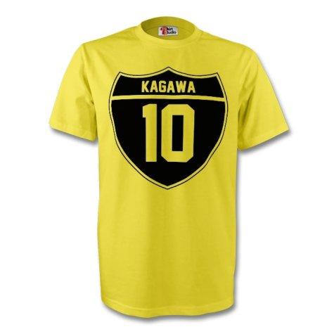 Shinji Kagawa Borussia Dortmund Crest Tee (yellow)
