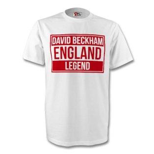 David Beckham England Legend Tee (white)