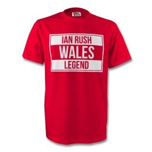 Ian Rush Wales Legend Tee (red) - Kids