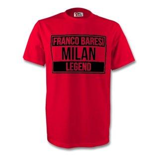 Franco Baresi Ac Milan Legend Tee (red) - Kids