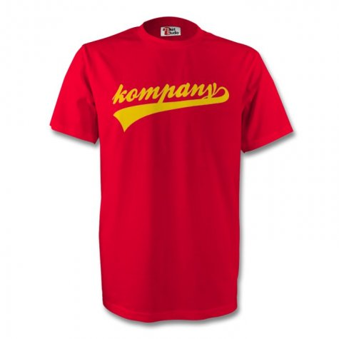 Vincent Kompany Belgium Signature Tee (red) - Kids