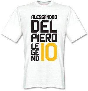 Alessandro Del Piero Juventus Legends Tee (White)