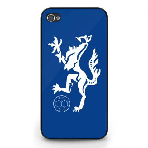 Enfield Town Logo iPhone 4 Cover (Blue)