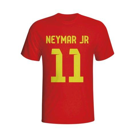 Neymar Barcelona Hero T-shirt (red)