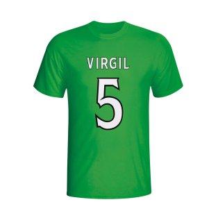 Virgin Van Dijk Celtic Hero T-shirt (green) - Kids