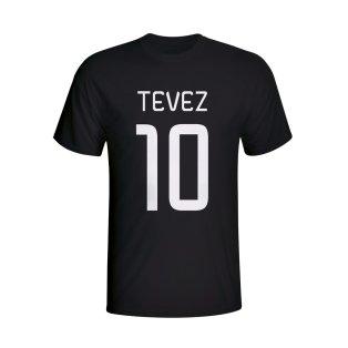 Carlos Tevez Juventus Hero T-shirt (black)