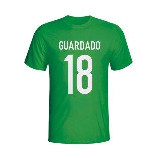 Andres Guardado Mexico Hero T-shirt (green) - Kids