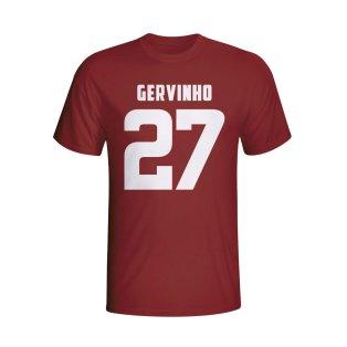 Gervinho Roma Hero T-shirt (maroon)