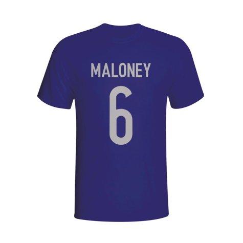Sean Maloney Scotland Hero T-shirt (navy)