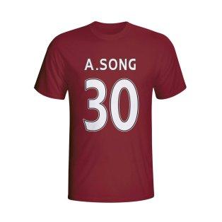 Alex Song West Ham Hero T-shirt (maroon) - Kids