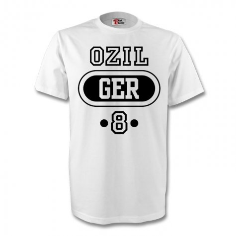 Mesut Ozil Germany Ger T-shirt (white)