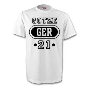 Mario Gotze Germany Ger T-shirt (white)