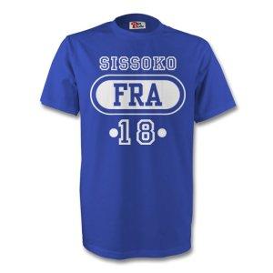 Moussa Sissoko France Fra T-shirt (blue) - Kids