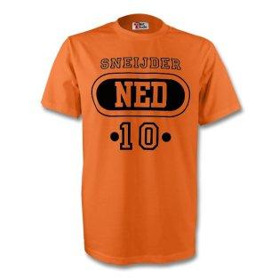 Wesley Sneijder Holland Ned T-shirt (orange) - Kids