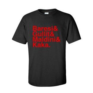Ac Milan Football Legends T-shirt (black)