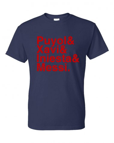 Barcelona Football Legends T-shirt (navy)