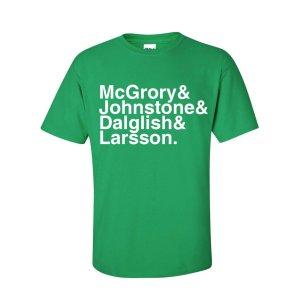 Celtic Football Legends T-shirt (green)