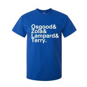 Chelsea Football Legends T-shirt (blue)