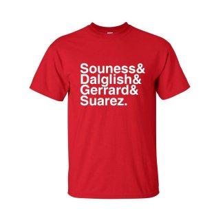 Liverpool Football Legends T-shirt (red)