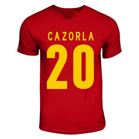 Santi Cazorla Spain Hero T-shirt (red)